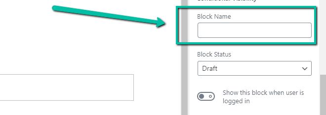 Block Name